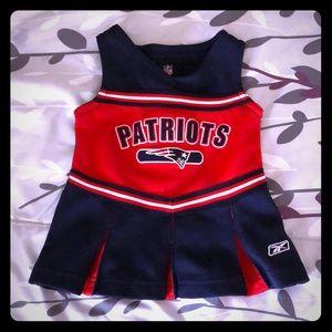 Patriots dress/cheerleader uniform